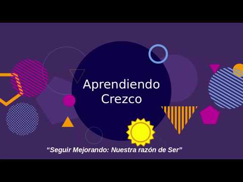 Embedded thumbnail for Aprendiendo Crezco