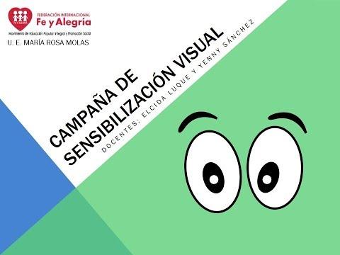 Embedded thumbnail for Campaña de Sensibilización Visual